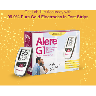 Alere G1 Blood Glucose Monitor with 25 Strips pack