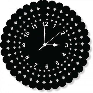 ENA DECOR WALL CLOCK CLOCK047 MDF WOODEN