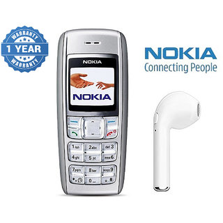 Nokia 1600 / Good Condition/ Certified Pre Owned (1 Year Warranty) With Hbq Bluetooth