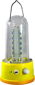 moon light 28 Brightest LED Rechargeable Emergency Light (Yellow)