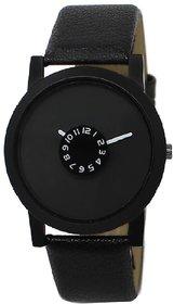 Mastani 16 Black Dial Leather Belt Watch For Men - Form