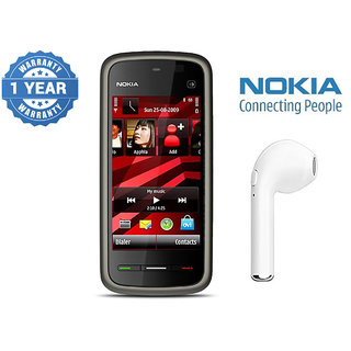 Nokia 5233 / Good Condition/ Certified Pre Owned (1 Year Warranty) with HBQ Bluetooth