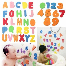 SYGA Baby Bath Letters and Numbers 36 Pieces