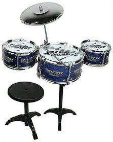 OhBaby Jazz Drum Set For Kids With 3 Drums And 2 Sticks SE-ET-171