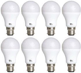 Alpha Pro 12 Watt LED Bulb Pack Of 8 Warranty 6 Months