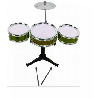OH BABYBABY The New And Latest Jazz Drum Set For Kids With 3 Drums And 2 Sticks SE-ET-170
