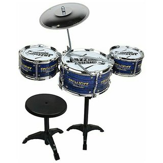 OhBaby The New And Latest Jazz Drum Set For Kids With 3 Drums And 2 Sticks SE-ET-171