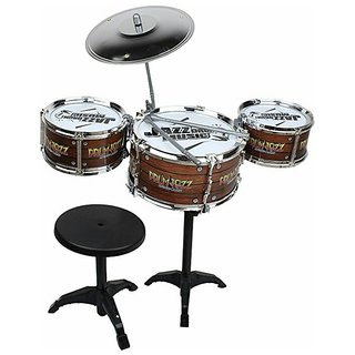 OH BABYBABY The New And Latest Jazz Drum Set For Kids With 3 Drums And 2 Sticks SE-ET-172