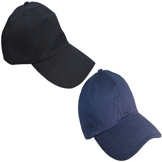 575b1382013 Buy Sunshopping men s black and navy blue baseball caps (combo ...