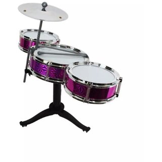 OH BABYBABY The New And Latest Jazz Drum Set For Kids With 3 Drums And 2 Sticks SE-ET-178