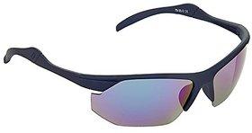 Hrinkar Multicolour Mirrored Sports Unisex Sunglasses