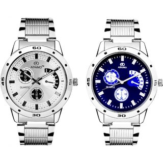 Loretta Analogue Multi-Colour Dial Watch Combo for Men- 109108