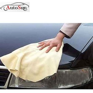 KunjZone Clean Cham Cleaning Towel Cloth For Cars/Bike/Home