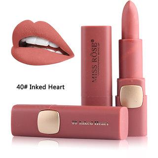 Miss Rose Creame  Matte Makeup Lipstick Longlasting And Waterproof