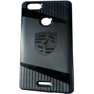 Micromax Canvas Infinity Life Back Cover-Praksh Back Cover HD Soft , (Black)For Micromax Canvas Infinity Life by Praksh