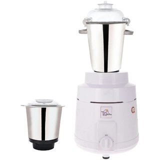 Sunmeet 1600 Watts Commercial Mixer Grinder With 2 Jars (White)