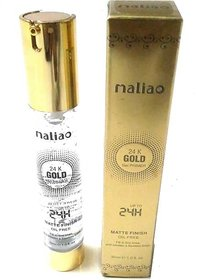Maliao gel base primer Primer - 30 ml (transparent gold crytals)