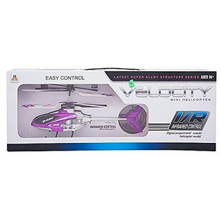 Velocity Easy Control I/R Remote Infrared Controlled 2.5 Channel Helicopter SE-ET-191