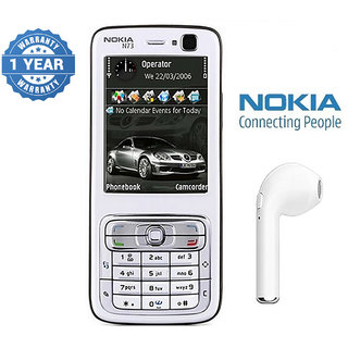 Nokia N73/ Good Condition/ Certified Pre Owned (1 Year Warranty) with HBQ Bluetooth