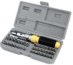 KunjZone 41 In 1 Pcs Tool Kit  Screwdriver Set Very Useful for Home - Office, PC  Car