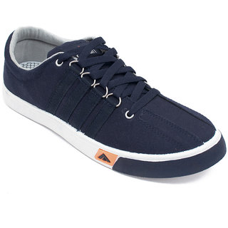 Asian Skypy-162 Navy Blue Canvas Shoes For Men