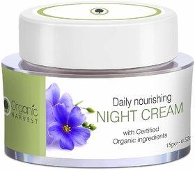 Organic Harvest Daily Nourishing Night Cream,15g