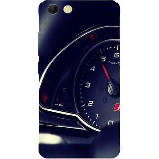 Back Cover for Panasonic P55 Novo (Multicolor, Flexible Case)