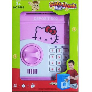 OH BABY Toys Money Safe Kids Piggy Savings Bank with Electronic Lock SE-ET-198