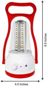 Moon Light  Bright LED DLX  Rechargeable  Emergency Light