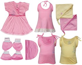 Jo Kids Wear New Born Baby Clothing Set (17600Baby Girl0-6 Months)