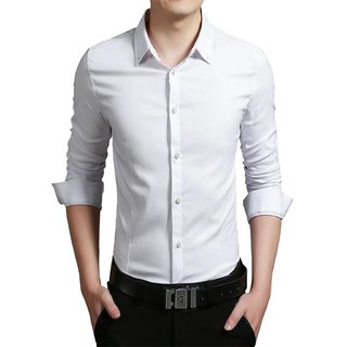 US Pepper White Casual Cotton Shirt (Pack of 1)