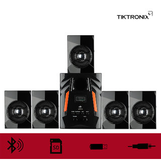 TT303 5.1 Multimedia speaker system  Connectivity Usb  aux  Bluetooth  FM  memory card  remote control