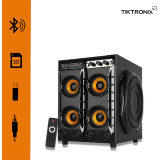4 in 1 Box Multimedia speaker system  Connectivity Usb  aux  Bluetooth  FM  memory card  remote control