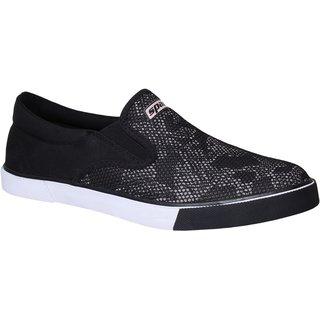 Sparx Men SM-381 Black White Casual Shoes