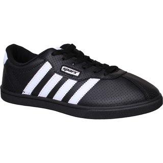 Sparx Men SM-378 Black White Casual Shoes