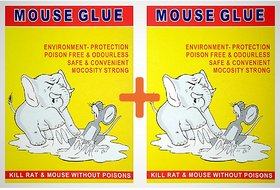 LuckyTraders Mouse Glue Pad/ Rat Trap (Set of 2)