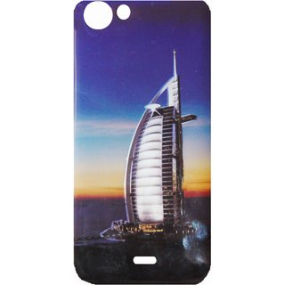 free shipping 595ad 24f7d DESIGNER PRINTED BACK COVER FOR MICROMAX Q416 / CANVAS PACE 4 G BY ALIVE