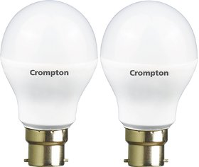 Crompton 12-Watt B22 Base LED Bulb (Pack of 2, Cool Day Light)