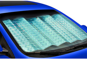 Front And Rear Foldable Car Sunshade