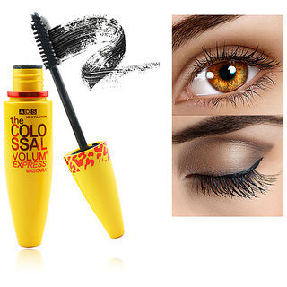 Ads Express Volume Smoky Eye Mascara With Fiber Eye Brow Pencil