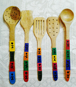 hand painted spoons