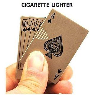 DYNAMIC MART Ikka Golden Card Shaped Lighter