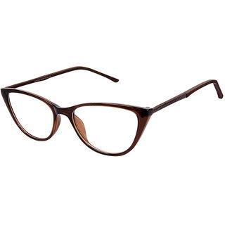 06a4cc7c3d816 Buy David Blake Brown Cateye Full Rim EyeGlass Online - Get 54% Off