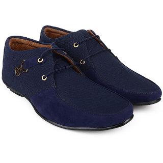 Footista Men's Blue Cayman Party Wear Shoes