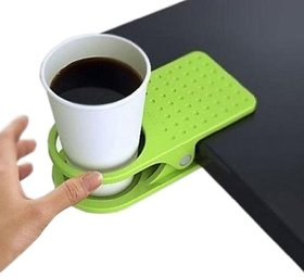 Clip Drink Cup Cans Coffee Mug Holder Stand