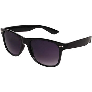 005c30ca64 Buy Debonair Black Aviator Sunglass + Free Black Wayfarer (UV Protection) Unisex  Sunglass Online - Get 82% Off