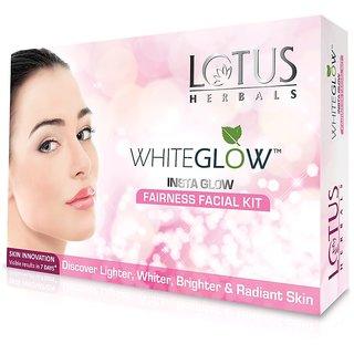 Lotus Herbal's White Glow Insta Glow Fairness Facial Kit.