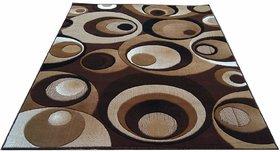 AS Handloom Modern Embossed 3D round cut carpet