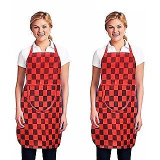 Set Of 2 Non Woven Kitchen Apron