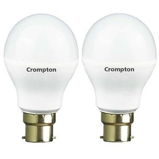 Crompton 14-Watt + 9-Watt B22 Base LED Bulb (Cool Day Light)
